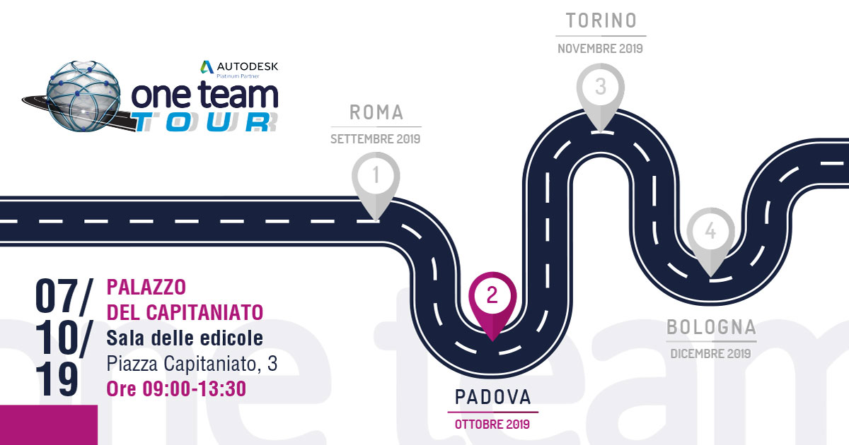 one team tour padova 2019